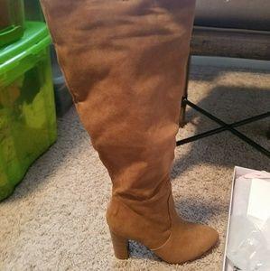 JustFab Matina heeled boot